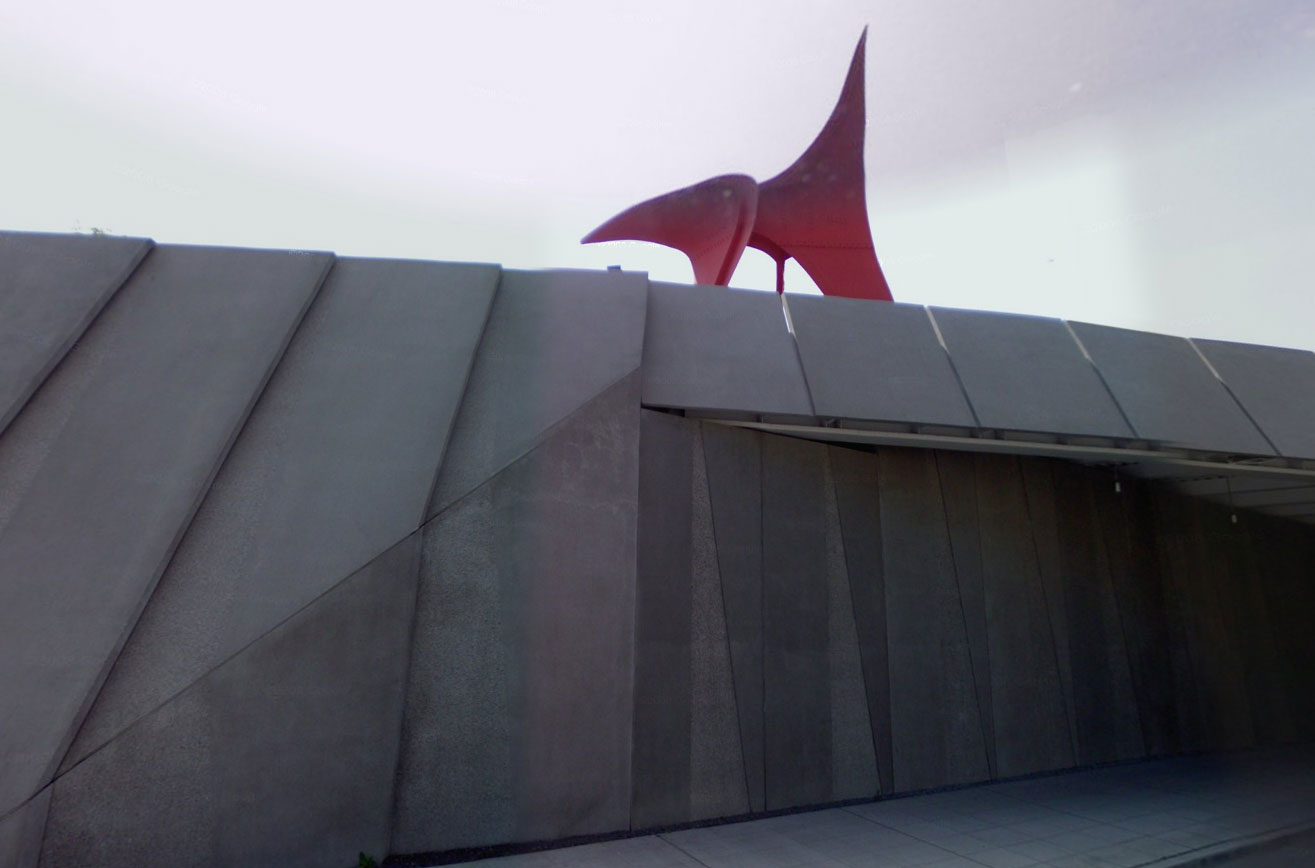 Claude Closky, Screen Shot, 3095 Elliott Avenue, Seattle, Washington, United States, Alexander Calder, Eagle, 1971