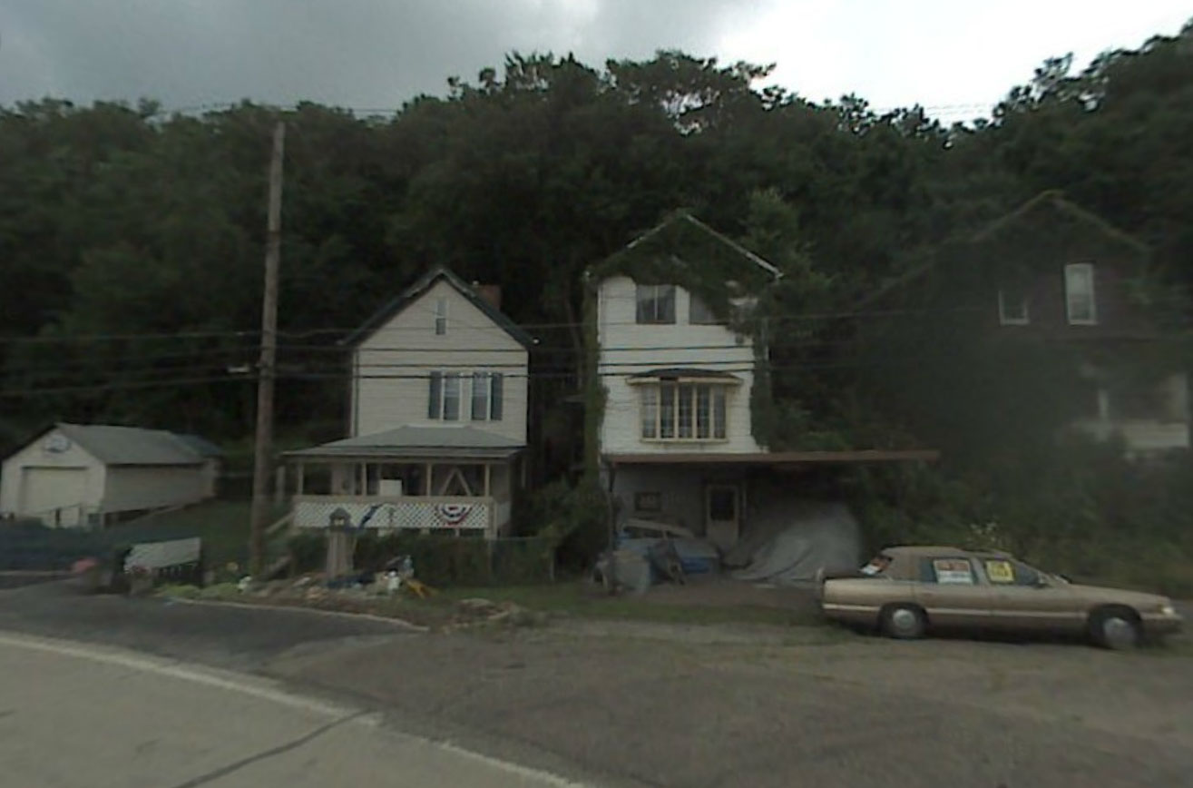 Claude Closky, Screen Shot, 380 Versailles Avenue, North Versailles, Pennsylvania, United States