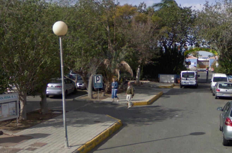 Claude Closky, Screen Shot, Avenida Touroperador Tjaereborg / Avenida del Touroperador Tjaereborg, San Bartolomé de Tirajana, España