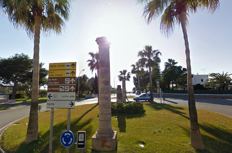 Claude Closky, Screen Shot, Avinguda Benvinguts / Carrer de Consolació, Santanyí, Espanya