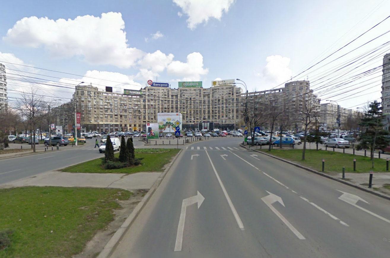 Claude Closky, Screen Shot, Bulevardul Unirii, Bucharest, România