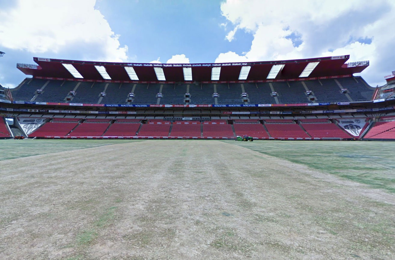 Claude Closky, Screen Shot, Ellis Park Stadion, Johannesburg, South Africa