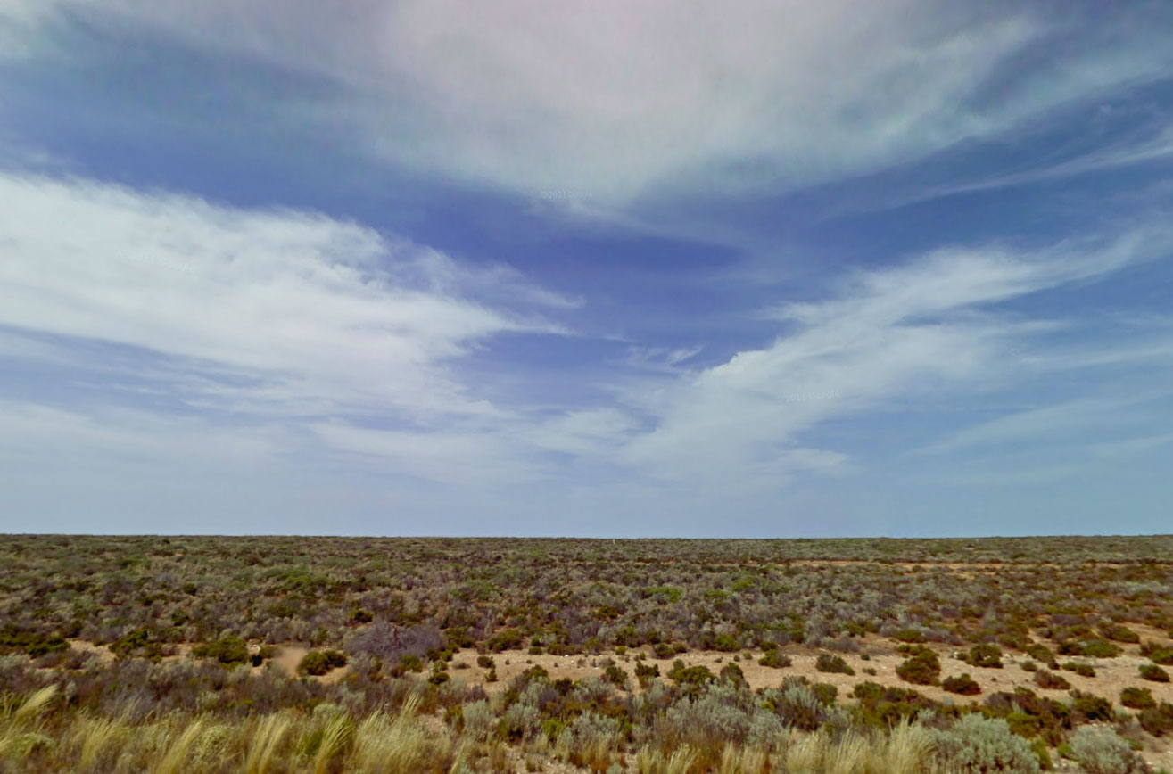 Claude Closky, Screen Shot, Eyre Highway, Eucla Western Australia, Australia