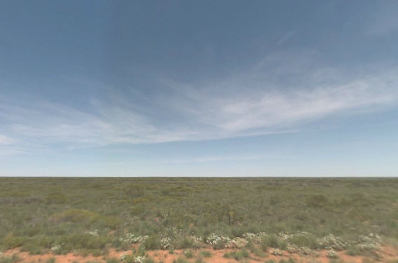 Claude Closky, Screen Shot, Great Northern Highway, Eighty Mile Beach Western Australia, Australia