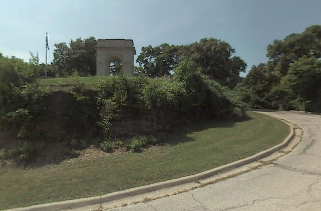 Claude Closky, Screen Shot, Park Drive, Kansas City, Kansas, United States