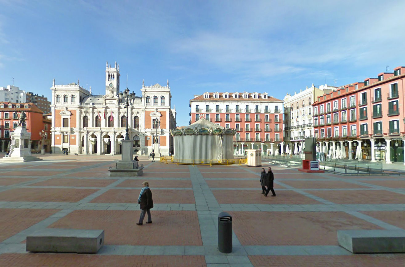Claude Closky, Screen Shot, Plaza Mayor, Valladolid, Castille and Leon, Spain