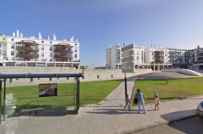 Claude Closky, Screen Shot, Praceta Dom Antão de Almada / Praça Lopes Graça, Almada, Portugal