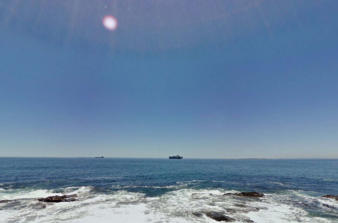 Claude Closky, Screen Shot, South Atlantic Ocean, Cape Town, South Africa