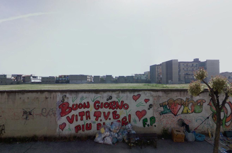 Claude Closky, Screen Shot, Via Michelangelo Lupoli / Viale Raffaello, Frattamaggiore Naples, Italia